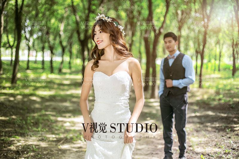 北京街拍婚纱照该如何搭配服饰