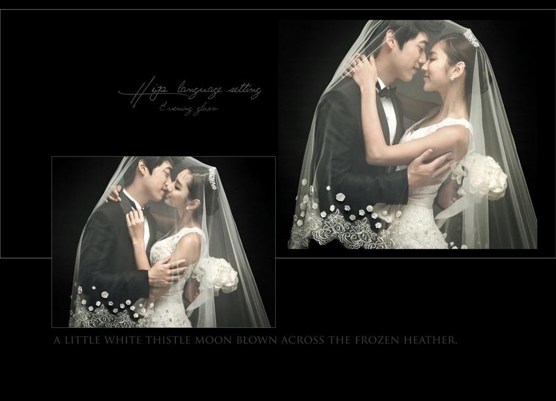 典雅韩式婚纱照